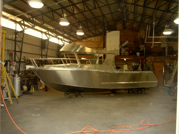 Aluminum Boat Construction : Timotty get aluminum drift boat building