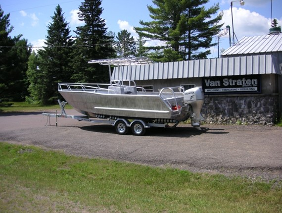 24 FT Center Console Sportsfisher (919) | Aluminum Boat ...