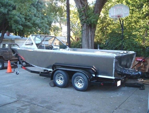 20 Ft Sportster Water Jet 922 Aluminum Boat Plans Designs By Specmar