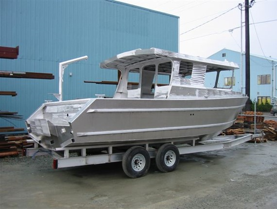29 FT Alaska Sportsfisher (936) | Aluminum Boat Plans & Designs by Specmar