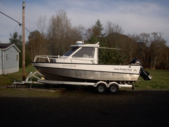 23 FT Raised Cabin Sportsfisher (1009)
