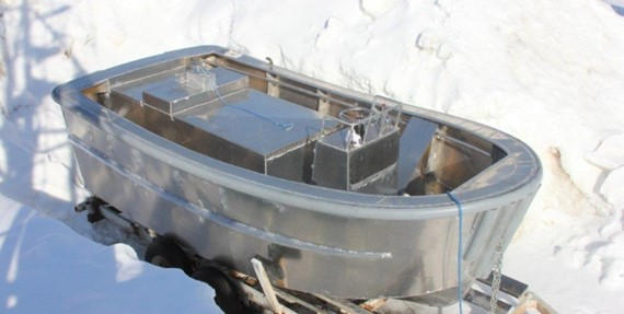Aluminum boat design and computer lofting of welded aluminum