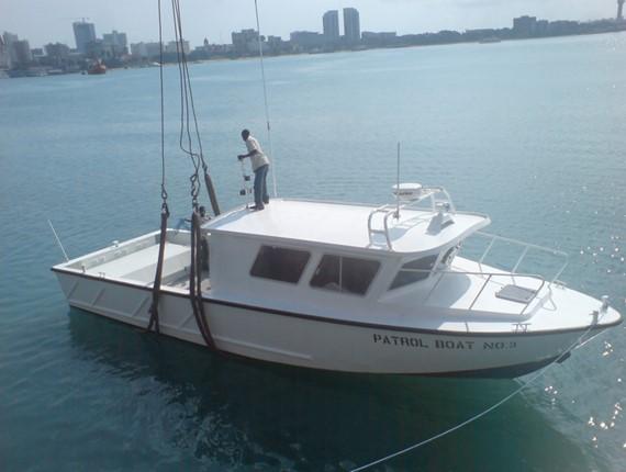 40 ft patrol boat 1524 aluminum boat plans designs by specmar for Aluminium boat designs plans free