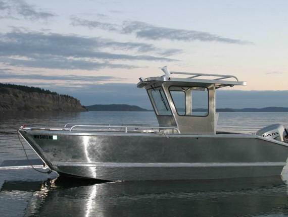 21 Ft Landing Craft 1627 Aluminum Boat Plans Designs By Specmar