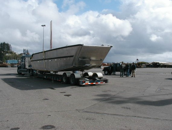36 FT Flat Bottom Landing Craft (924)