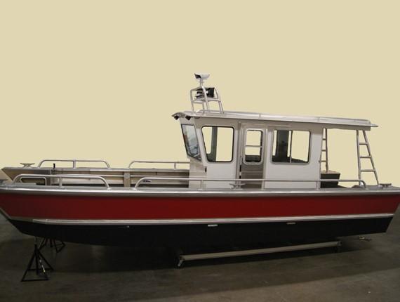 ... FT Wide Landing Craft (624) | Aluminum Boat Plans & Designs by Specmar