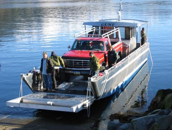 42 FT Wide Door Landing Craft (1027)   Aluminum Boat Plans & Designs by Specmar