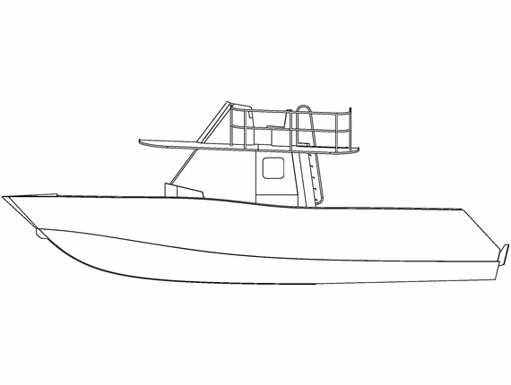 36 FT Dive Boat (544) | Aluminum Boat Plans & Designs by Specmar