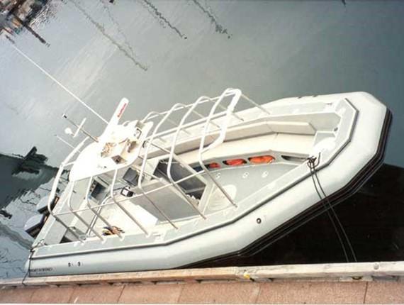 10 5 meter rib 1322 aluminum boat plans designs by specmar for Aluminium boat designs plans free