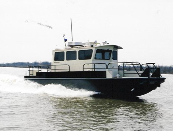 35 FT Catamaran Workboat (616)
