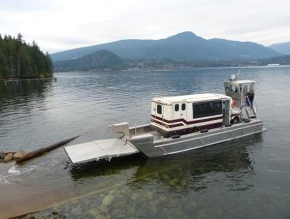 41 FT Flat Bottom Landing Craft (1719)   Aluminum Boat Plans & Designs by Specmar
