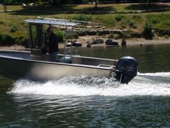 18 FT Narrow Beam Orca (1108) | Aluminum Boat Plans & Designs by Specmar