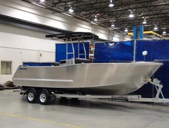 24 FT Center Console Sportsfisher (919)