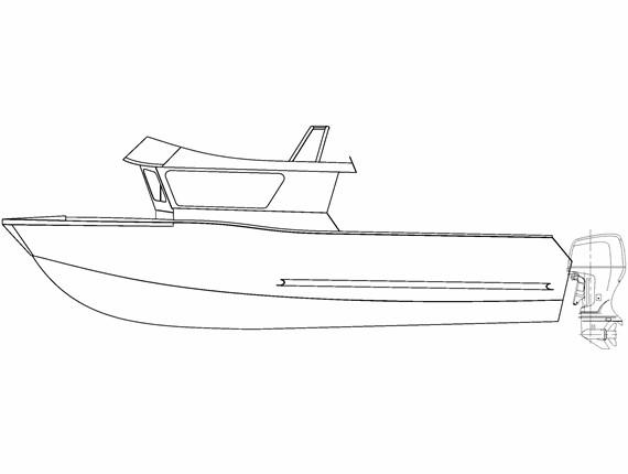 30 FT Orca (1256) | Aluminum Boat Plans & Designs by Specmar