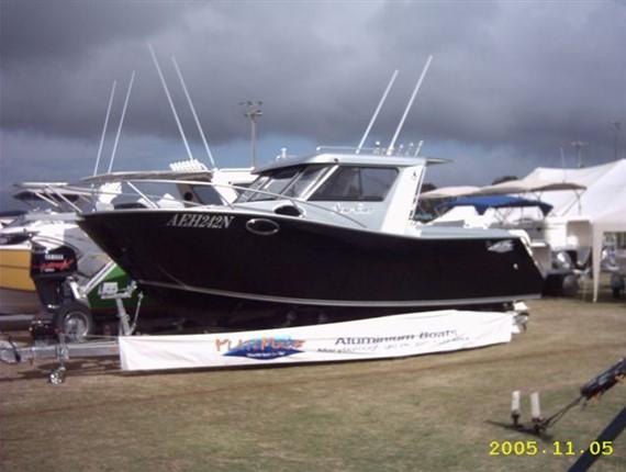 24 FT ORCA (1424) | Aluminum Boat Plans & Designs by Specmar